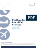 Getting Started With FleetBroadband LaunchPad