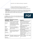 Study Guide for Final Exam Matter and Energy in Organisms and Ecosystems Unit 2 PostTest