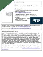 5 Humanities and Social Scientific Research Methods in Porn Studies
