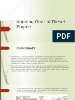 Running Gear of Diesel Engine zz