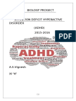 Biology INVESTIGATORY PROJECT ON ADHD
