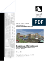 Project Manual - Buildings 100, 300, 400, 500, 600 - Sugarloaf Market