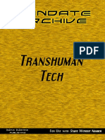 Mandate Archive Transhuman Tech