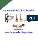 Cuadernillo Definitivo de Guitarra
