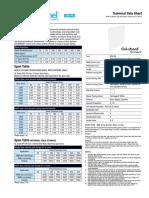 Bondor BondorPanel Insulated Walling Technical Data