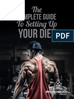 The Complete Guide to Setting Up Your Diet v2.0.0
