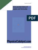 Physics Formulas and Concepts