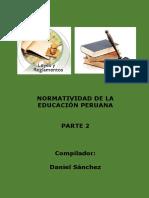 Normas Educativas Perú Parte 2