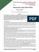 Power Communication using Optical-fiber