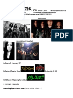Metal Bulletin Zine 70