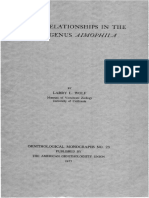 Ornitholigical Monographs