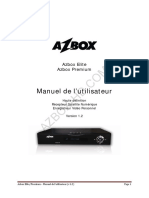 Azbox Hd FR Manuel
