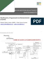 Planificacion y Programacion de Mantenimiento Parte 2