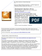 30. Sustainable Rural Dev and Food Security - Brazil
