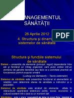 Managementul serviciilor de sanatate