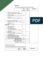 Final Score Sheet