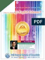 Rev. Hong's English Columns I Cover