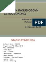 Laporan Kasus Obgyn (Dr.suswadi,Sp.og)