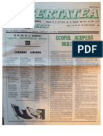 Libertatea, Anul VI, Nr. 58-59, Iunie-Iulie 1987