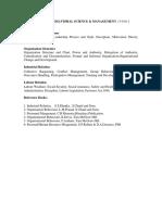 Behavioral Science & Management_ume08b03_syllabus
