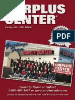 Surplus Center Catalog 2013