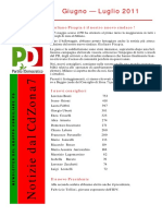 newsletter pd zona 7 giu 2011