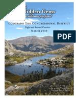 Hidden Gems Wilderness plan