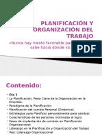 Taller de Planificacion y Organizacion Del Trabajo
