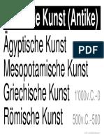 w LernPlakate KUN Bildende-Kunst-Antike