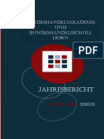 Hak Horn Jahresbericht 2010 11
