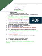 Subiecte Examen Cele Colorate Pica(3 Tipuri de Subiecte) 2011