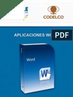 Aplicaciones Word