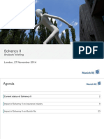 Solvency II Analysts Briefing 2014-11-27