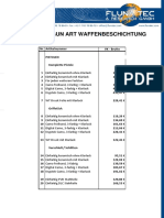 FlunaTec - Preisliste Gun Art 01.09.2015