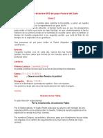 Misa 18 de Diciembre 2015 de La Pastoral Del Duelo C
