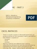 General Excel Tips 3