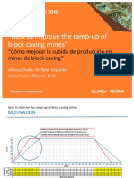 How to improve the ramp-up of block caving mines
