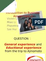 Ajinomoto Presentation