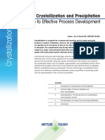 White paper crys process dev