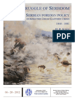 Kern (2012) the Struggle of Serbdom - Serbian Foreign Policy During the Great Eastern Crisis 1868-1881