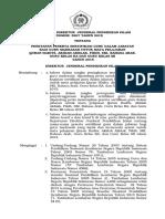 SK Penetapan Peserta Sertifikasi PTAI 2015