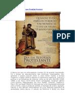 A Reforma Da Igreja