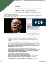 Rupert Murdoch Retira Su Oferta Por Time Warner _ Economía _ EL PAÍS