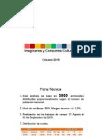 1era Encuesta Nacional de Imaginarios y Consumos Culturales de Venezuela