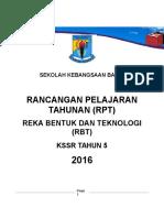 Rpt Rbt Tahun 5 2016