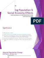 Aging Population & Social Economy Effects
