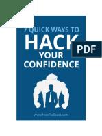 7 Confidence Hacks