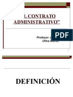 El Contrato Administrativo