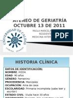 Ateneo Geriatr_a 13 de Octubre de 2011