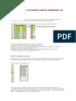 Como Verificar Se Existem Valores Duplicados No Excel